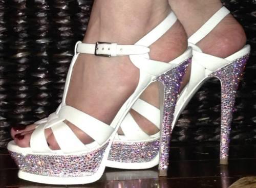 Swarovski Custom Crystal Wedding Shoes