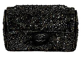 807505f6eff1 Why paying $18000 at the store for Chanel Swarovski crystal handbag, if you  can ask BLINGA DESIGN to make one for you for much less with even higher  quality ...